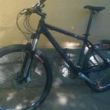 "Cube reaction pro 17"" - Mountain Bike Cube, 17 inch, 26 inch, Numar viteze: 27, Aluminiu, Negru"