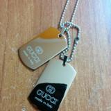 Medalioane GUCCI Dog Tag