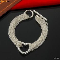 Bratara din argint - Bratara superba argint 925 + cutie cadou; 19.5 cm lungime