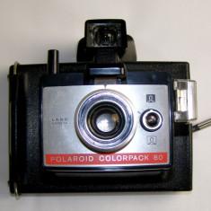 Aparat fotografiat Polaroid Colorpack 80 - Aparat Foto cu Film Polaroid