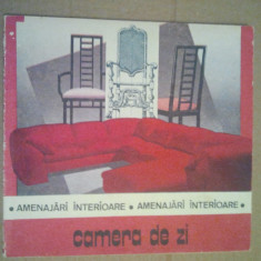 CAMERA DE ZI - AMENAJARI INTERIOARE - RADULESCU DANIELA - Carte Hobby Amenajari interioare