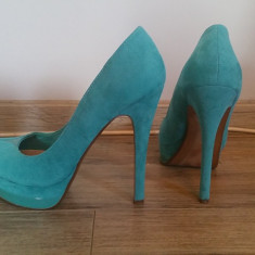Pantofi dama, Textil - Platforme Bershka Pantofi