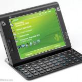 Vand HTC x7500 ca NOU !! pachet complet !! OKAZIE !! - Telefon HTC, Negru, 8GB, Neblocat, Single core, 128 MB