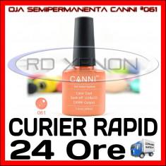 OJA SEMIPERMANENTA (PERMANENTA) BEIGE #061 CANNI - MANICHIURA UV, Piersica