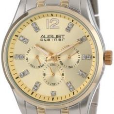 August Steiner Men's AS8068TT Two-Tone | 100% original, import SUA, 10 zile lucratoare a12107 - Ceas barbatesc August Steiner, Quartz
