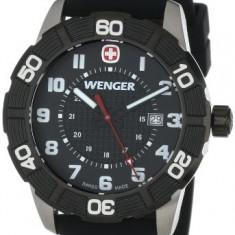 Wenger Roadster Black Stainless Steel | 100% original, import SUA, 10 zile lucratoare a22207 - Ceas barbatesc