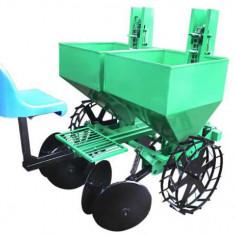 Masina de plantat cartofi pe 2 randuri