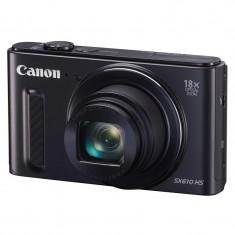 Aparat Foto compact Canon - Aparat foto digital Canon PHOTO CAMERA CANON SX610 HS BLACK AJ0111C002AA