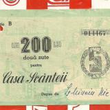 Contributie CASA SCANTEII 200 lei seria B ...467, An: 1955