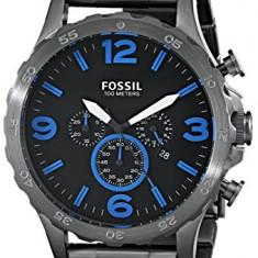Fossil Men's JR1478 Nate Chronograph | 100% original, import SUA, 10 zile lucratoare a22207 - Ceas barbatesc