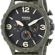 Fossil Men's JR1488 Nate Stainless | 100% original, import SUA, 10 zile lucratoare a22207 - Ceas barbatesc