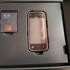 Nokia N97 mini Neverlocked - Telefon mobil Nokia N97 Mini, Auriu, Neblocat