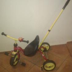 Vand tricicleta copii 1-3 ani, 12-24 luni, Unisex, Rosu