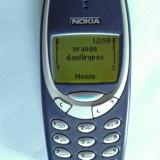 Nokia 3310 decodat baterie Noua 7 zile vorbit Lb.Ro Made by Nokia - Telefon Nokia, Albastru, Nu se aplica, Neblocat, Single SIM, Fara procesor