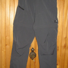 Pantaloni 2 in 1 vara SkinFit Schoeller Switzerland - dama XS - hiking outdoor - Pantaloni dama, Culoare: Gri