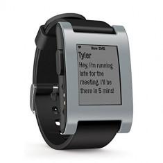 Pebble Smartwatch - Grey | Se aduce la comanda din SUA, 10 zile lucratoare | a53007