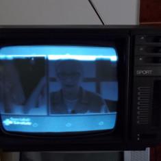 Televizor CRT - TELEVIZOR SPORT, FABRICAT PENTRU EXPORT, ANII 90 .