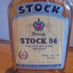 Brandy stock 84 - italy cl 25 gr 40 - ani 1950 -1960 - Cognac