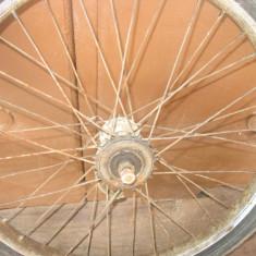 Roata spate bicicleta tip pegas