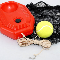 Minge tenis de camp - Set de antrenament pentru tenis - minge cu elastic