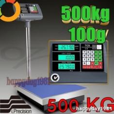 Cantar de Bucatarie - CANTAR PLATFORMA ELECTRONIC 500 KG