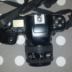 Nikon F601 + obiectiv Nikkor AF 35-70 mm f 1:3.3 - 4.5 - Aparat Foto cu Film Nikon, SLR, Mediu