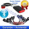 Tester diagnoza auto - Tester Delphi DS150E cu Bluetooth + Cabluri camioane Autocom/Delphi - Garantie