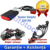 Tester Delphi DS150E + Cabluri turisme si camioane Autocom/Delphi - Tester diagnoza auto