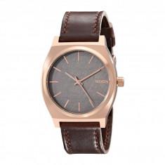 Ceas Nixon The Time Teller Leather | 100% original, import SUA, 10 zile lucratoare - Ceas barbatesc Timex, Quartz