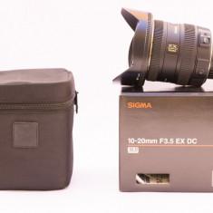 Sigma 10-20mm f/3.5 EX DC HSM - Nikon AF-S DX - Obiectiv DSLR Sigma, Ultra-wide, Autofocus, Nikon FX/DX
