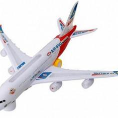Avion de jucarie - Avion Airbus cu lumina
