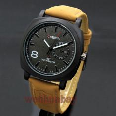 Ceas barbati - marca CURREN - cadran negru - Ceas barbatesc