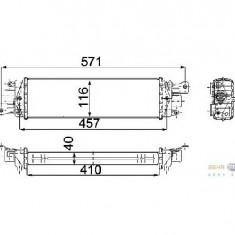 Intercooler turbo - Intercooler compresor FIAT ALBEA 178 PRODUCATOR HELLA 8ML 376 746 671