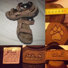 Sandale barbati - Sandale JACK WOLFSKIN 44, 5 papuci adidasi de vara munte treking hiking outdoor