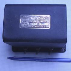 Amplificator audio - Transformator iesire extrem de rar de putere radio cu pe lampi vechi anii 20