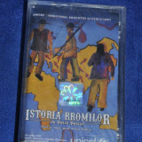 Casetofon - Caseta audio Istoria Rromilor, de Petre Petcut - Unicef, Ministerul Educatie