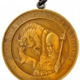 Ticuzz - Medalie 1935 Expozitia Nationala de Vanatoare - Premiul III - Medalii Romania