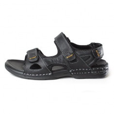 Sandale barbati - Sandale pentru barbati Hi-tec (HTC-20001-BLA)