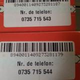 2 numere de telefon consecutive pe reteaua Vodafone - Cartela Vodafone