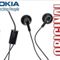 CASTI NOKIA Lumia 900 Asha 502 Dual SIM ORIGINALE NOI HANDSFREE MUFA JACK 3.5mm COD NOKIA WH-108 SUNET DETALIAT