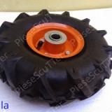 Roata / Roti + Janta Motocultor 3.50-4 / 350 - 4 / 3.50 x 4