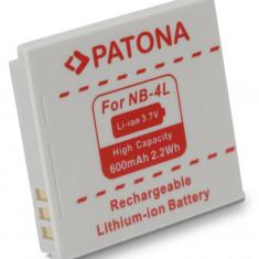 Baterie Aparat foto - 1 PATONA | Acumulator pt Canon NB 4L NB 4LH NB4L Ixus 30 40 50 55 60 65 70 75 80