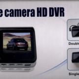 CAMERA VIDEO DUBLA DVR AUTO HD 720p 30 FPS | F20 | CICLICA | DISPLAY 2 INCH TFT | CAMERA MARSARIER | MARTOR ACCIDENT | NOUA