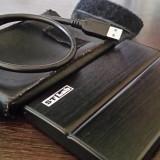 """HDD Extern Seagate 500GB, 2.5"""", USB 3.0 (HDD+rack aluminiu +husa piele), 500-999 GB, Rotatii: 5400, 2.5 inch, 16 MB"""