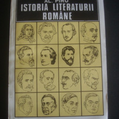 AL. PIRU - ISTORIA LITERATURII ROMANE - Istorie