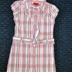 Rochita tip camasa, de vara, foarte draguta, marca Tigerlily/ Debenhams, fete 5 ani/ 110 cm, Culoare: Multicolor