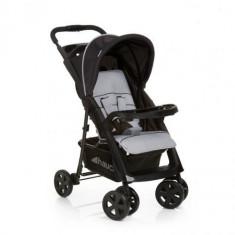 Carucior Shopper Comfortfold Black Silver - Carucior copii 2 in 1 Hauck