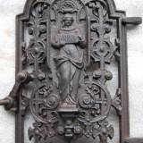 superba usa pentru soba din fonta , rara  fabricata la Anina