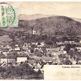 Rasinari, Sibiu, trimisa de Petru Catunaru lui Ilarie Chendi, critic literar, 1913 - Carte Postala Transilvania 1904-1918, Circulata