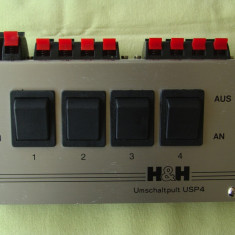 Comutator boxe H&H (Hartig & Helling) UPS 4